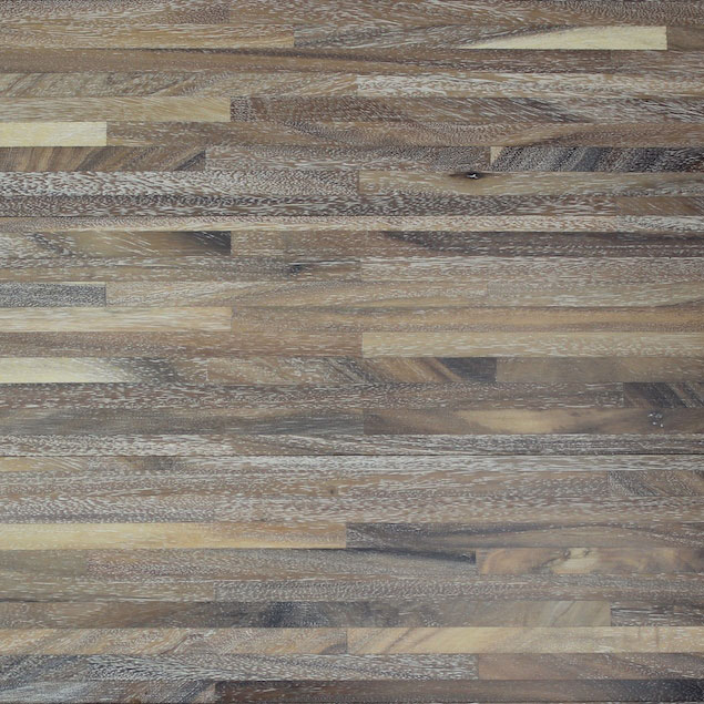 Reclaimed ACACIA METRO ENGINEERED FLOORING & PANELING - WIRE WHITE