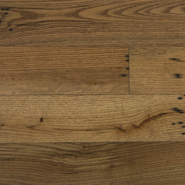 Reclaimed MISSION OAK RED ENGINEERED FLOORING & PANELING - DARK OIL