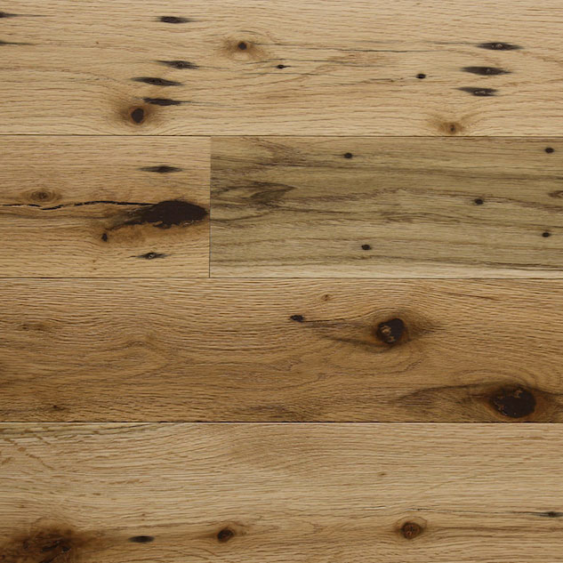 Reclaimed MISSION OAK RED ENGINEERED FLOORING & PANELING