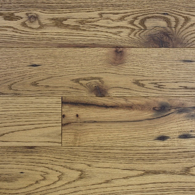 Reclaimed MISSION OAK RED ENGINEERED FLOORING & PANELING - VINTAGE