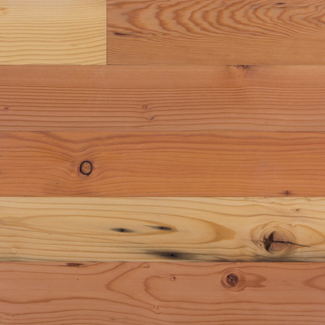 Reclaimed Mixed Grain Doug Fir Flooring Paneling
