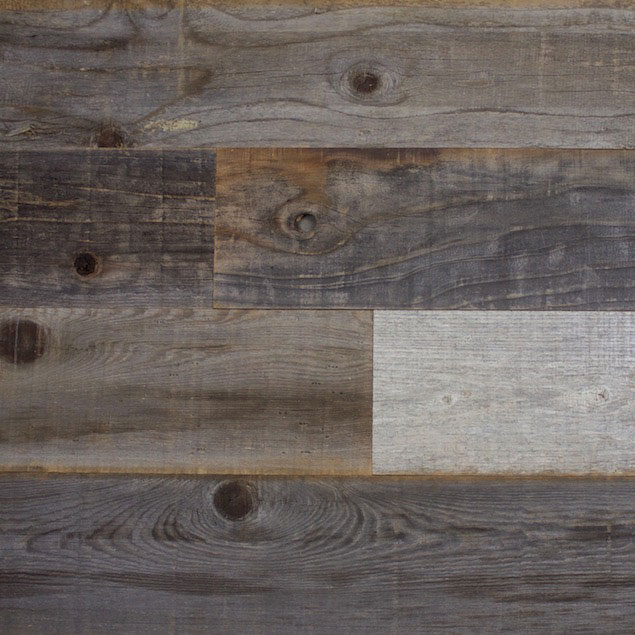 Reclaimed LOST COAST REDWOOD PANELING - WEATHERED FILET