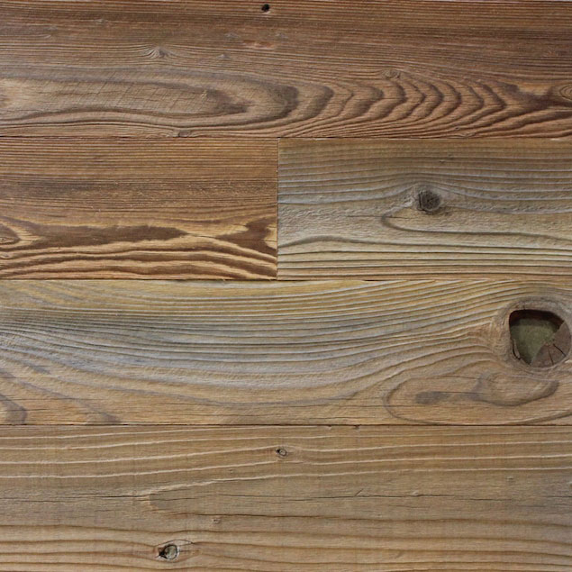 Weathered Redwood Nylon Brushed Barn Wood