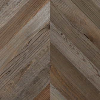 Reclaimed LOST COAST REDWOOD WEATHERED PANELING - CHEVRON