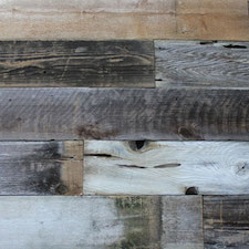 Reclaimed Lost Coast Redwood Simply Weathered Barn Wood