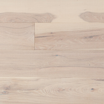 "Reclaimed WIDE PLANK HICKORY 7"" ENGINEERED FLOORING & PANELING - ARCTIC FOX"