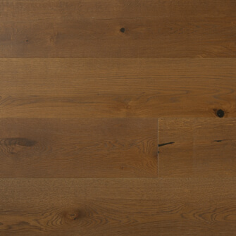 "Reclaimed WIDE PLANK WHITE OAK 7"" ENGINEERED FLOORING & PANELING - BOURBON"