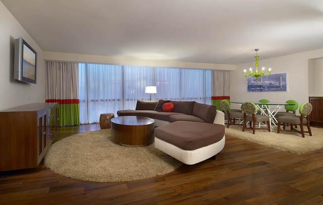 Flamingo Hotel Las Vegas Reclaimed Teak Flooring By Terramai